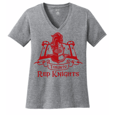 Toronto Red Knights Design 01 V-Neck Shirt