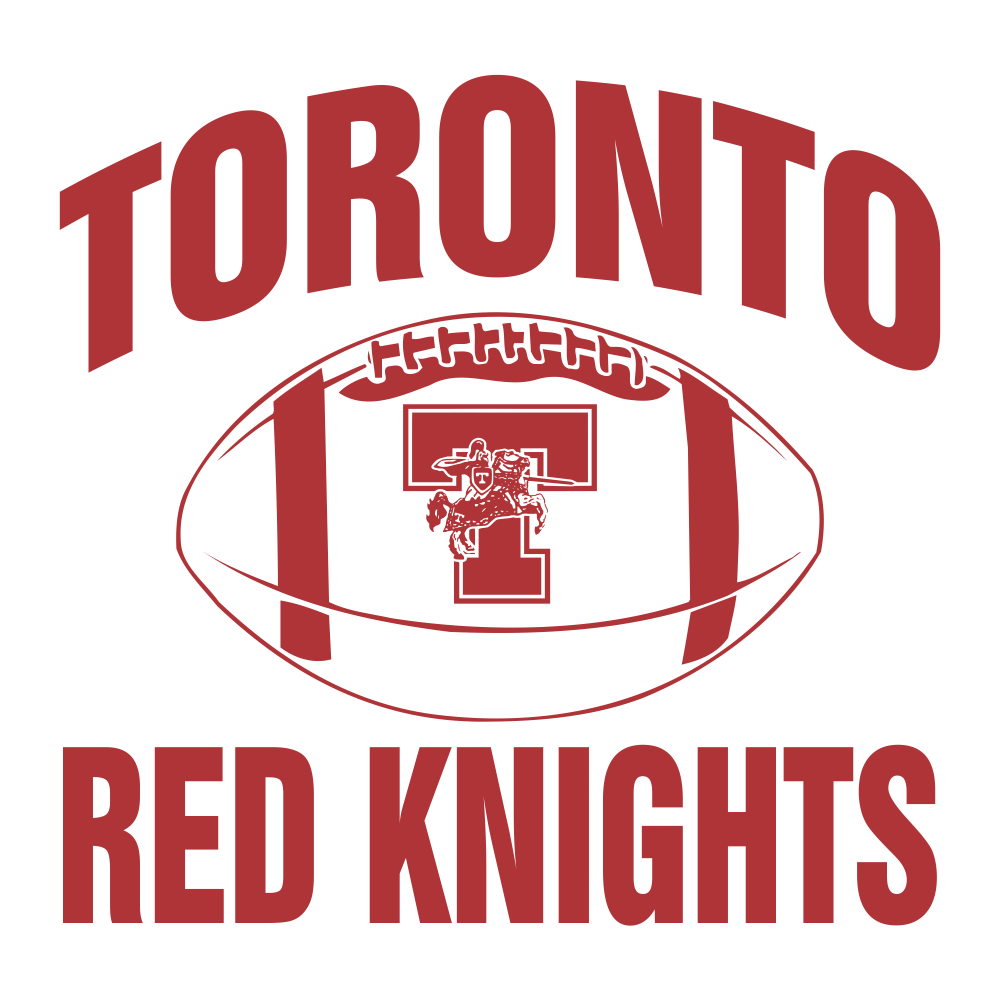 Shirt design toronto - Toronto Red Knights Football Design 01 T Shirt