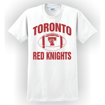 Toronto Red Knights Football Design 01 T-Shirt