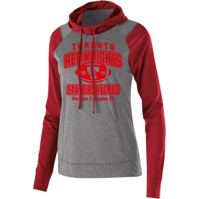 Toronto Red Knights Football Playoff Design 1 Ladies Echo Hoodie