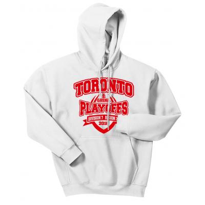 Toronto Red Knights Football Playoff Design 2 Hoodie