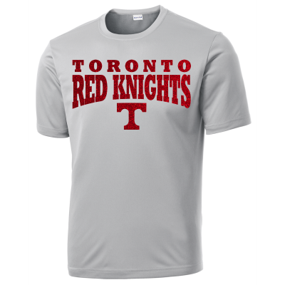 Toronto Red Knights Glitter Design 01 Competitor Tee