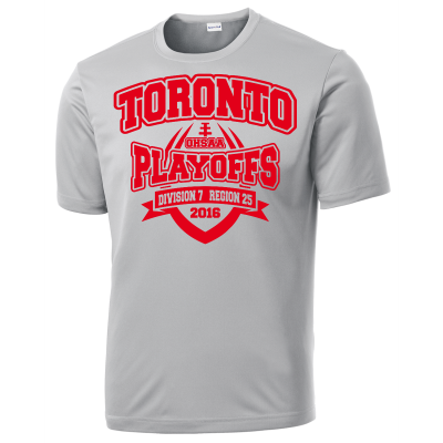 Toronto Red Knights Football Playoff Design 2 Competitor Tee
