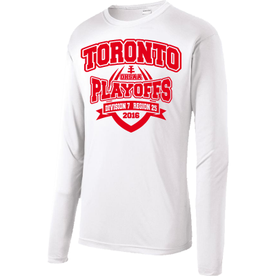 Toronto Red Knights Football Playoff Design 2 Competitor Long Sleeve
