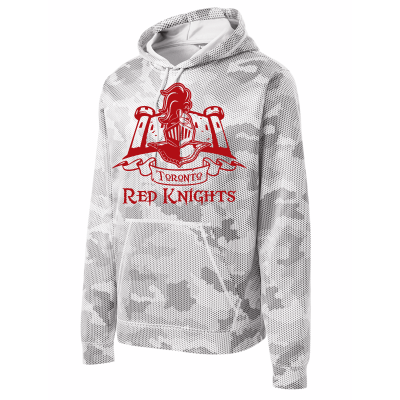 Toronto Red Knights Design 01 Sport-Wick CamoHex Fleece Hooded Pullover