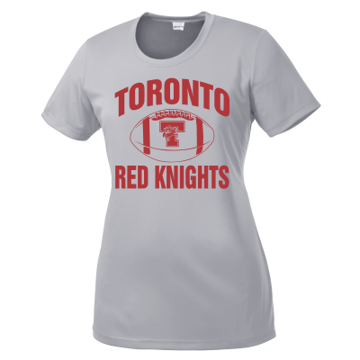 Toronto Red Knights Football Design 01s Ladies Competitor Shirt