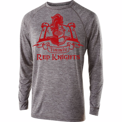 Toronto Red Knights Design 01 Electrify Long Sleeve Shirt