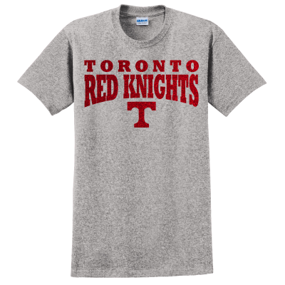 Toronto Red Knights Glitter Design 01 T-Shirt